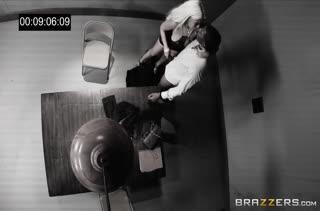 Гламурная сучка Bridgette B легла под черного копа #5