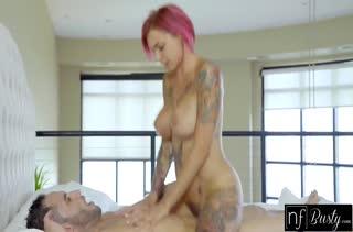 Anna Bell Peaks с большими сиськами наслаждается красивым сексом #6