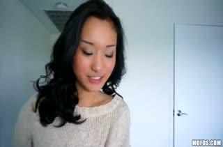 Любительский трах с горячей азиаткой Alina Li #1