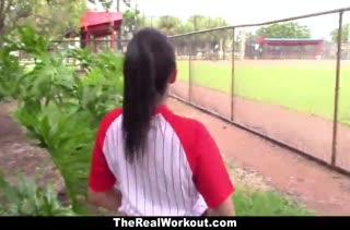 Бейсболистку Priya Price трахнули после игры #4