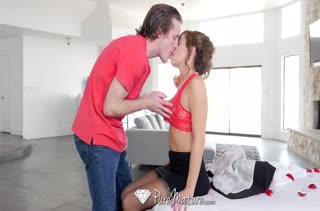 Устроил для красивой женушки романтический секс #2