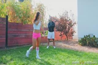 После футбола мужик смачно жарит красотку Alina Lopez #1