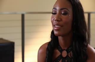 Красивая негритянка Chanell Heart выбирает белого любовника #1