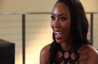 Красивая негритянка Chanell Heart выбирает белого любовника #2