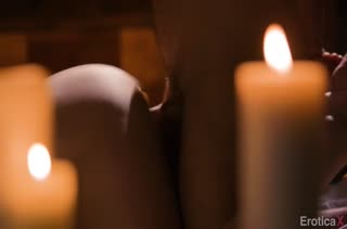 Mona Wales занялась с мужем сексом при свечах #4