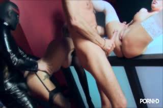 Развратницы в чулочках согласны на групповое порно #2