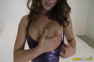Remy LaCroix одела латекс и возбудила мужика на секс #2