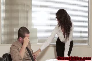 Настойчивая Alexa Tomas знает как соблазнить мужика #1