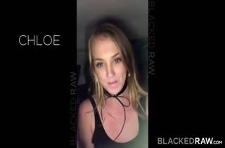 Пошлой блондинке Chloe Scott достался большой член #1
