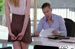 Молодая блондинка изменяет занятому мужу с опытным соседом #1