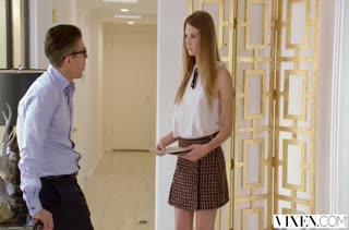 Молодая блондинка изменяет занятому мужу с опытным соседом #2