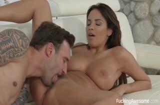 Красивая соседка Anissa Kate любит развратный секс #4